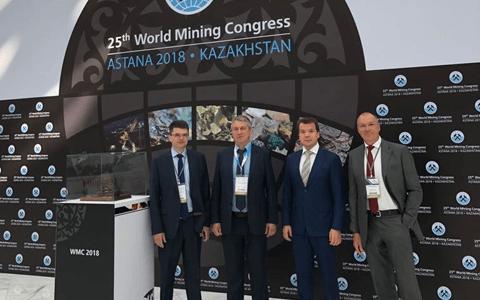Корпорация «Галактика» рассказала об эффективном ТОиР на Всемирном Горном Конгрессе 2018 в Астане